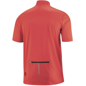 Gonso Ripo Half-Zip SS Bike Shirt Men high risk red
